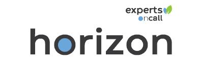 Horizon logo.